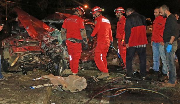 Rizede trafik kazası can aldı