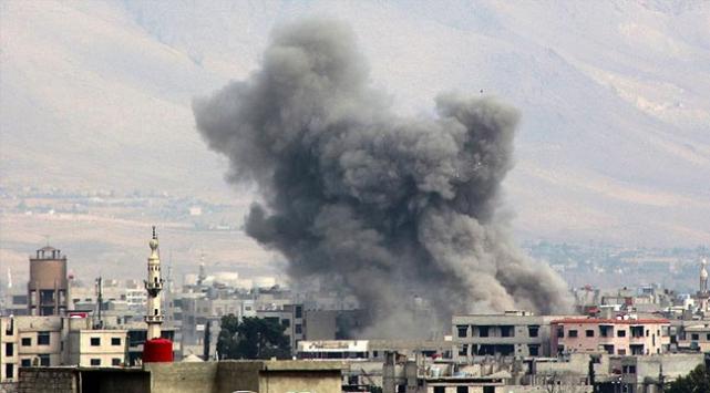 Suriyedeki bombardımanda 15 sivil öldü