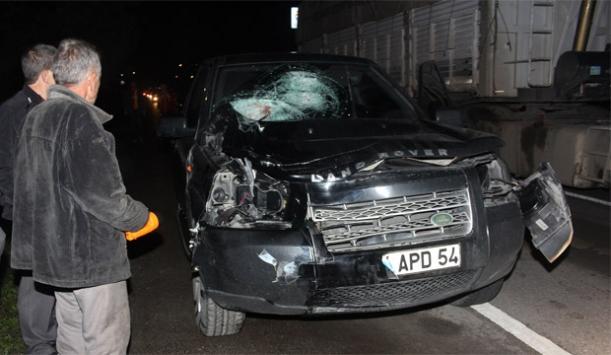 Samsunda trafik kazası: 1 ölü