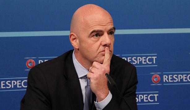 FIFA Başkan Infantino koronavirüse yakalandı