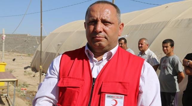 Türk Kızılayından Iraklı Türkmenlere yardım