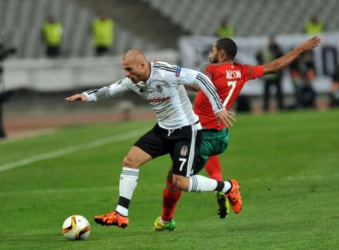 Beşiktaş - Lokomotiv Moskova maçı özet izle (1-1)