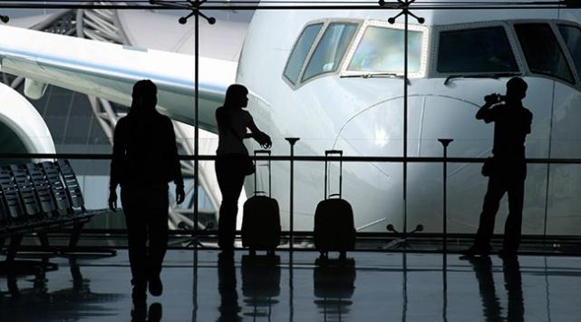 Ekim ayında kaç kişi havayolunu kullandı?