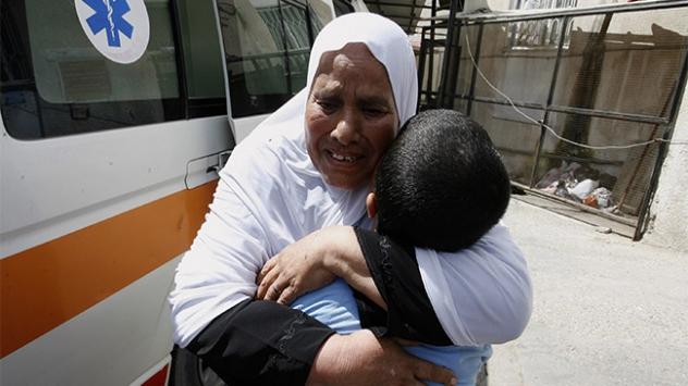 Türkiyeden Gazzedeki hastanelere bağış