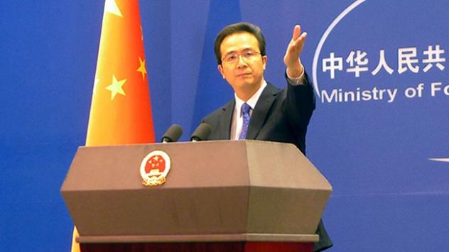Çinden ABDnin sözlerine sert tepki