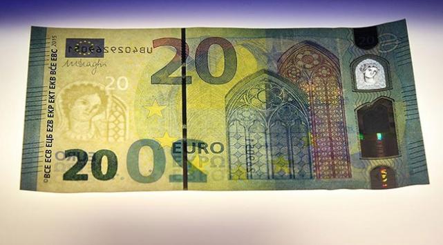 Almanya yeni 20 avroluk banknotu tanıttı