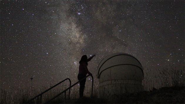 """Türk astronomlar """"galaksi kümesi"""" keşfetti"""