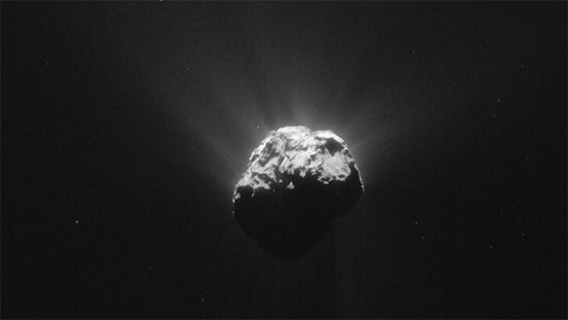 Uzay aracı Philae kuyruklu yıldızda bir yıl geçirdi