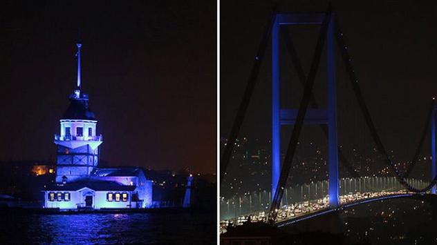 İstanbulda mavi bir gece