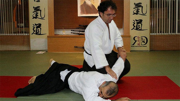 Stresten kurtulmak için aikidoyu tavsiye etti
