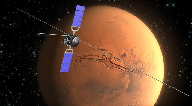 Marsta İki Büyük Okyanusun İzine Rastlandı
