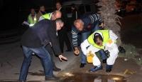 Hainler İçinde 38 Polisin Bulunduğu Aracı Taradı