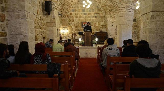 Mardin Protestan Kilisesinde 60 yıl sonra ayin yapıldı