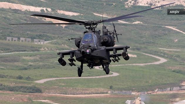 ABD ordusuna ait helikopter düştü