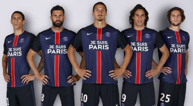 """PSG """"Ben Parisim"""" formasıyla çıkacak"""