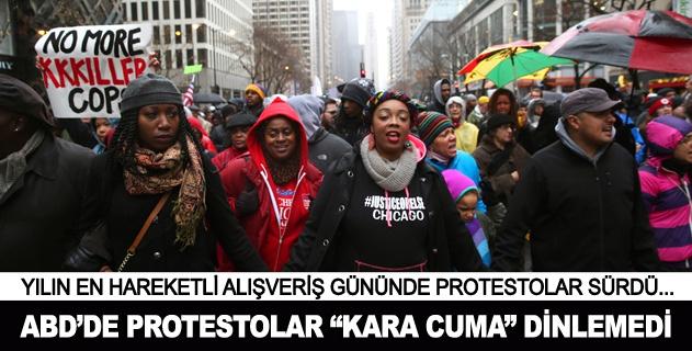 ABDde polis şiddeti protestoları sürüyor