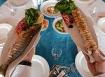 Balıkla Türk yemeği bir arada