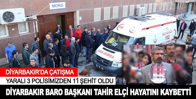 Diyarbakırda çatışma: Tahir Elçi hayatını kaybetti