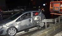 Avcılarda zincirleme trafik kazası!