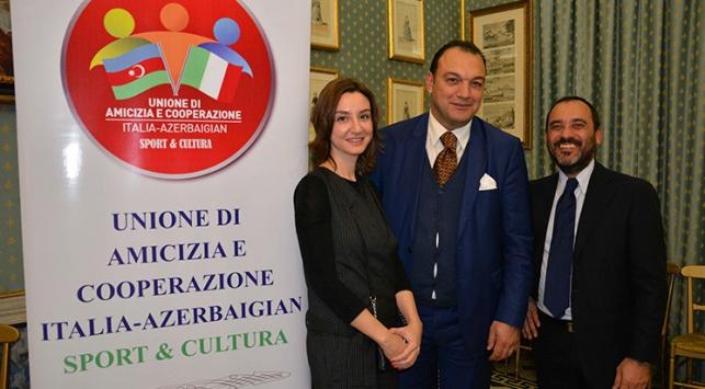 İtalya-Azerbaycan Dostluk ve İşbirliği Derneği tanıtıldı