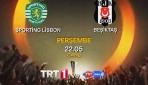 Sporting Lisbon Beşiktaş maçı TRT1de canlı