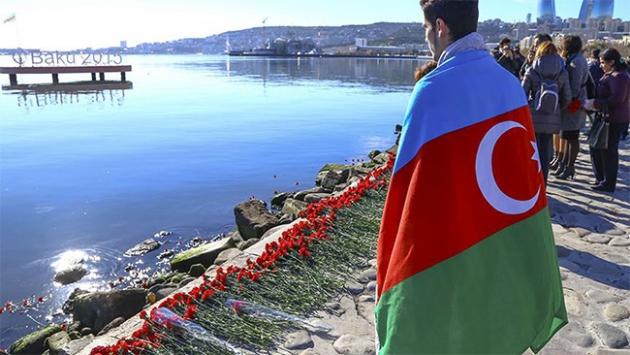 Hazar Denizinde yaşamını yitirenler anıldı