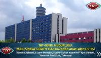 TRT sınav başvuru sonuçları açıklandı