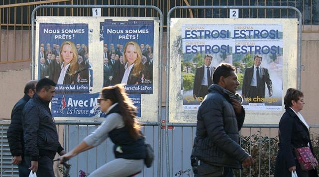 Fransada bölgesel seçimlerin ikinci turu yarın