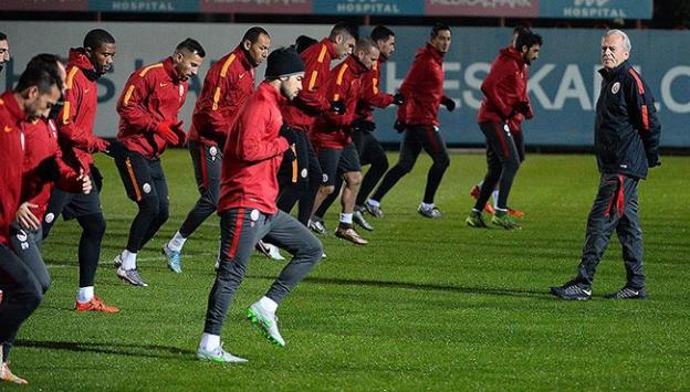 Galatasaray Beşiktaş derbisine hazır