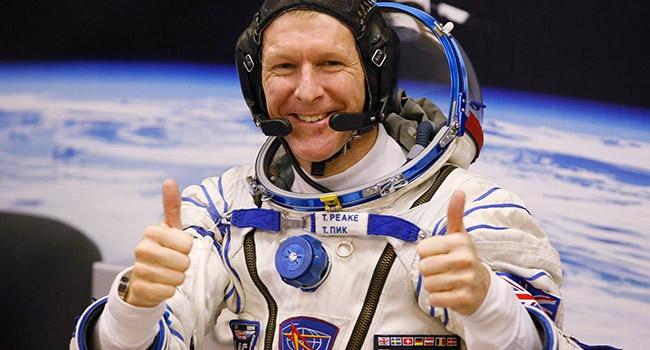 İngiliz Astronotun uzay macerası başlıyor