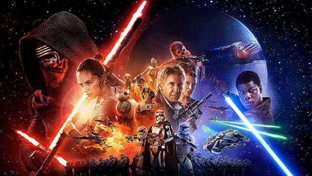 """""""Star Wars: Güç Uyanıyor"""" yarın vizyona girecek"""
