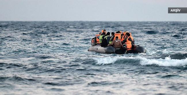 Muğlada kaçakları taşıyan tekne battı