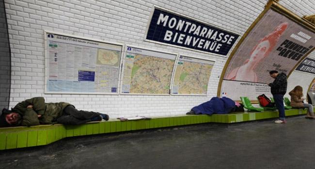 Fransada evsizlerin sayısında büyük artış