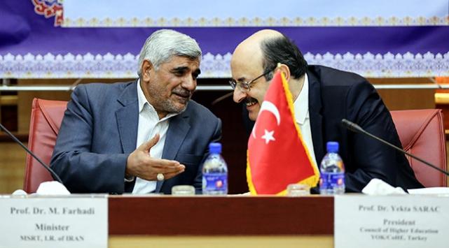 YÖK Başkanı Saraç İranda