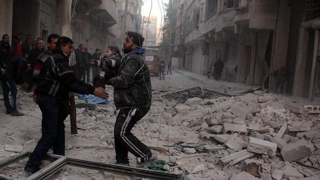 Rusya ve Esed rejimi misket bombası kullanıyor