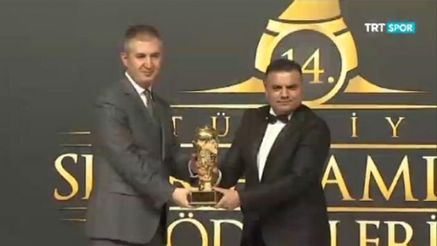 TRTye üç dalda medya ödülü