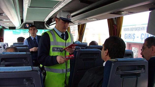 Yolcu otobüslerinde denetimler artacak