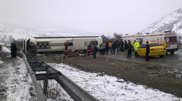 Ankarada Trafik Kazası