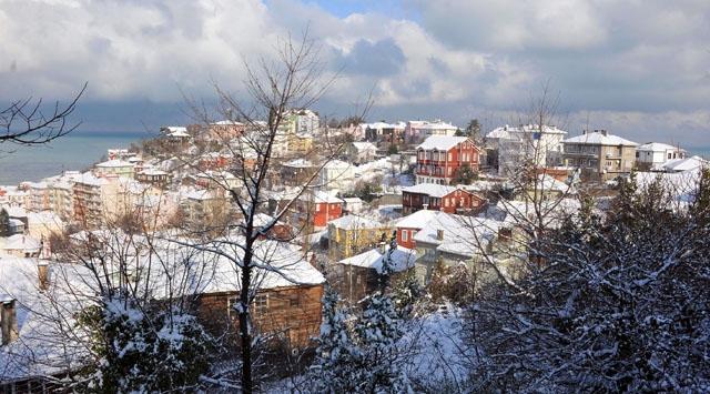 İneboluda Kar Tatili