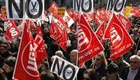 """İspanya'da """"İş Reformu"""" Protestosu"""