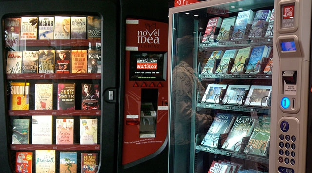 Kitaplar Artık Makineden Satılıyor