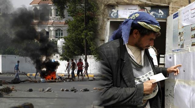 Yemende Olaylı Seçim