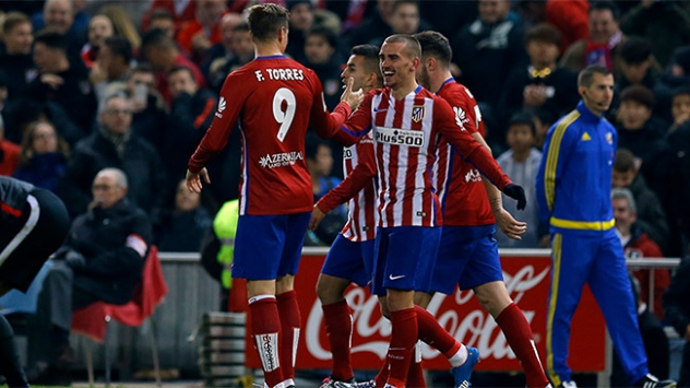 La Liga'da Yeni Lider Atletico Madrid