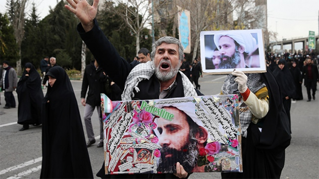 Şii din adamı Nemrin idamı İranda protesto edildi