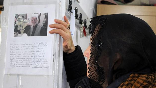 Taziyesine gelenlere ölmeden 2 yıl önce not bıraktı