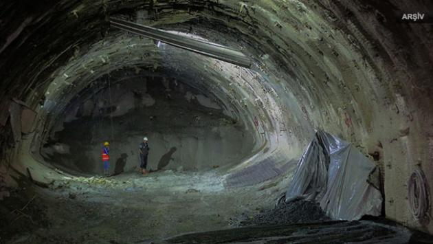 Bingölde tünel inşaatında göçük