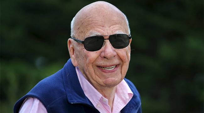Medya patronu Rupert Murdoch nişanlandı