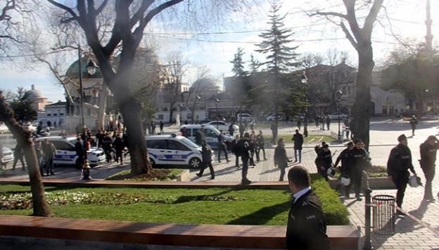 İstanbul Sultanahmette patlama