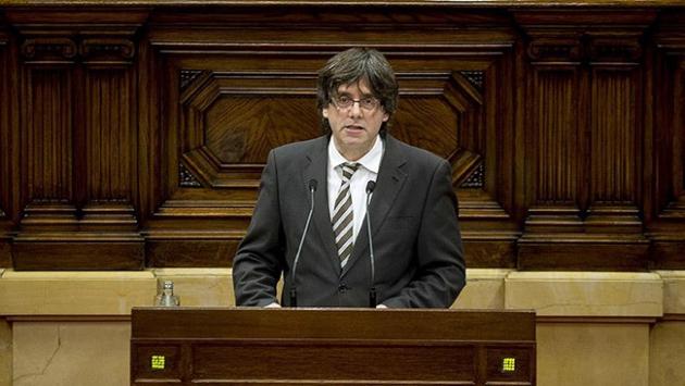 Katalonyanın yeni başkanı göreve başladı