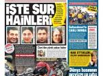 13 Ocak 2016 Gazete Manşetleri